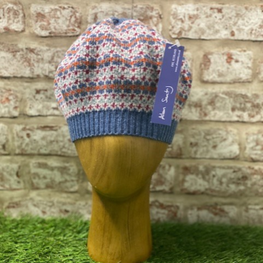 Ceres - Fairisle lambswool beret, Made in Scotland