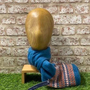 Ceres - Fairisle tubular scarf, Made in Scotland