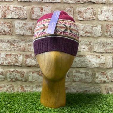 Glencraig - Traditional fairisle hat, Made in Scotland