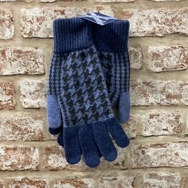 Mens lambswool gloves, Made in Scotland