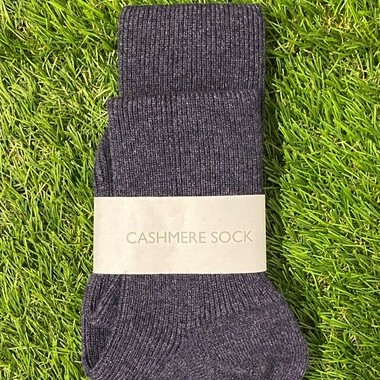 Petrol Blue Cashmere socks