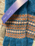Ceres - Fairisle lambswool gloves, Made in Scotland  Thumbnail