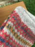 Ceres - Fairisle tubular scarf, Made in Scotland Thumbnail