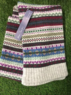 Eden - Fairisle jacquared scarf, Made in Scotland Thumbnail