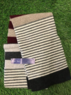 Largo - Men's Felted stripe scarf, Made in Scotland  Thumbnail