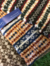 Tubular multi fairisle luxury scarf, Made in Scotland Thumbnail