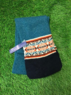 Glencraig - Tubular traditional fairisle scarf, Made in Scotland Thumbnail