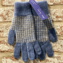 Crail, Jacquared gloves, Made in Scotland