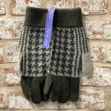 Earlsferry, Gents Jacquared gloves, Made in Scotland