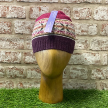Glencraig - Traditional fairisle hat, Made in Scotland