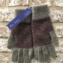 Ladies gloves, Made in Scotland