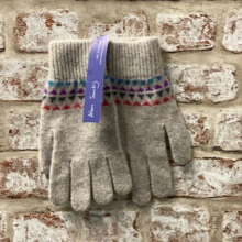 Ore, Jacquared gloves, Made in Scotland