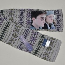 "Harry Potter Scarf, Fairisle scarf featured in ""HARRY POTTER AND THE HALF BLOOD PRINCE"""